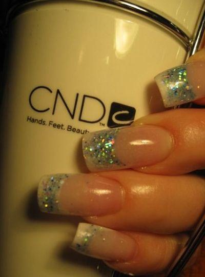 Custom blended and designed Nails.