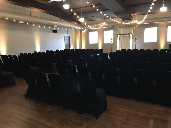 Ceremony room setup