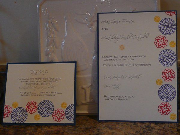 Tmx 1274558278498 031 Storrs Mansfield wedding invitation