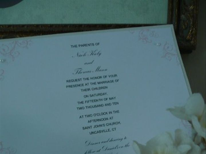 Tmx 1274558610154 086 Storrs Mansfield wedding invitation