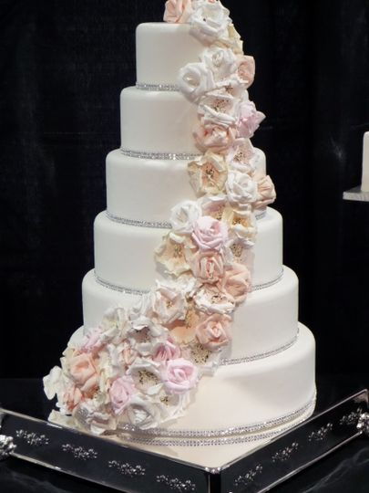 Confectionate Cakes Wedding Cake Raleigh NC WeddingWire
