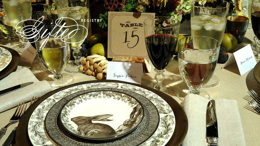 Table settingh
