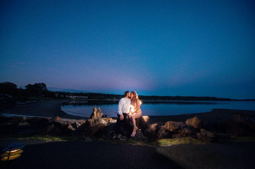 Couple on the Waterfront