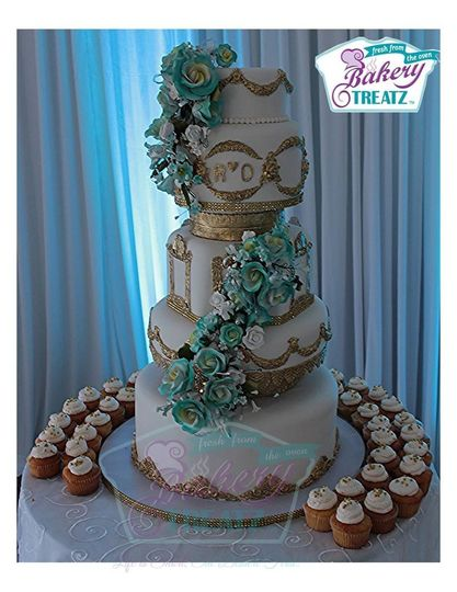 Bakery Treatz Wedding Cakes