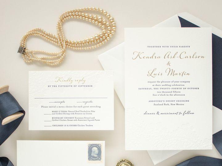 Tmx 1497783181697 Harmonyfoilsquare1 Saint Joseph, MI wedding invitation