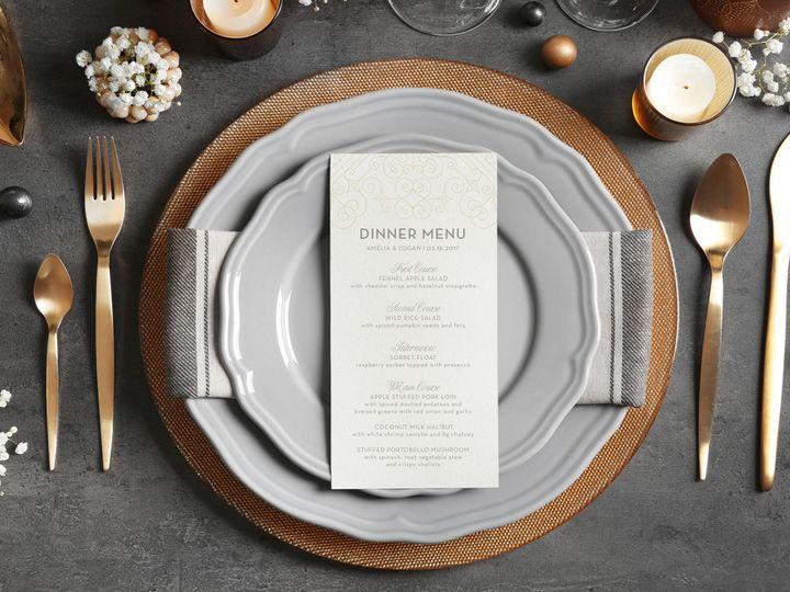 Tmx 1497783524848 Poshmenu Saint Joseph, MI wedding invitation