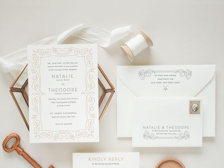 Tmx 1497783669934 Natalietheodoresquare1 Saint Joseph, MI wedding invitation