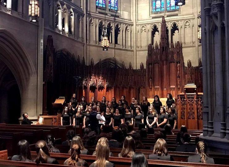 Heinz Memorial Chapel choir