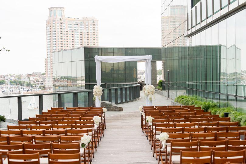 Splash Terrace Ceremony