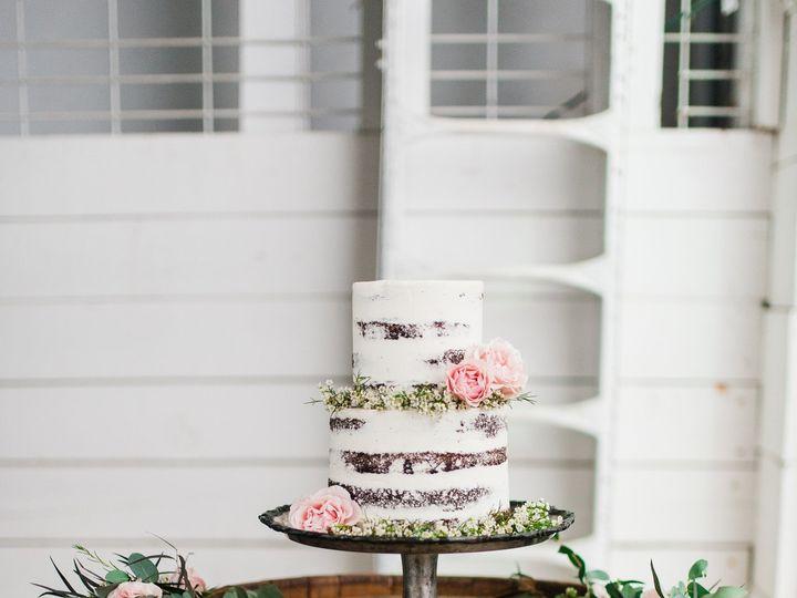 Tmx 1455488203004 Blue And Leather Inspired Farm Wedding   Brittany  Portland wedding cake