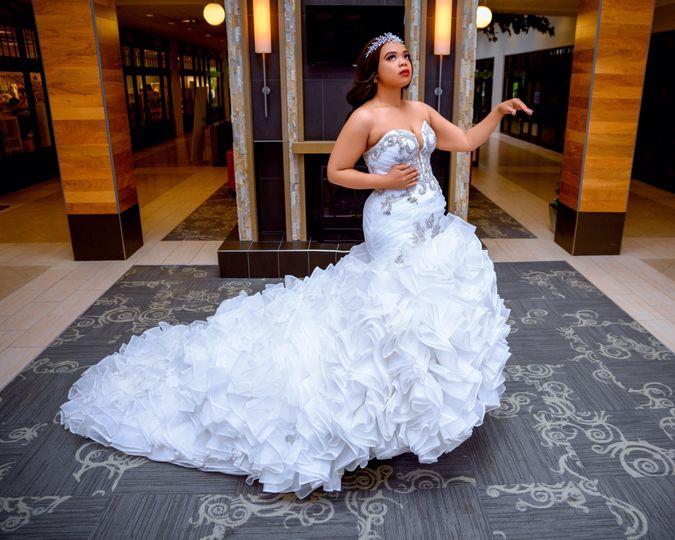 Ella Rose Mermaid Wedding Dres