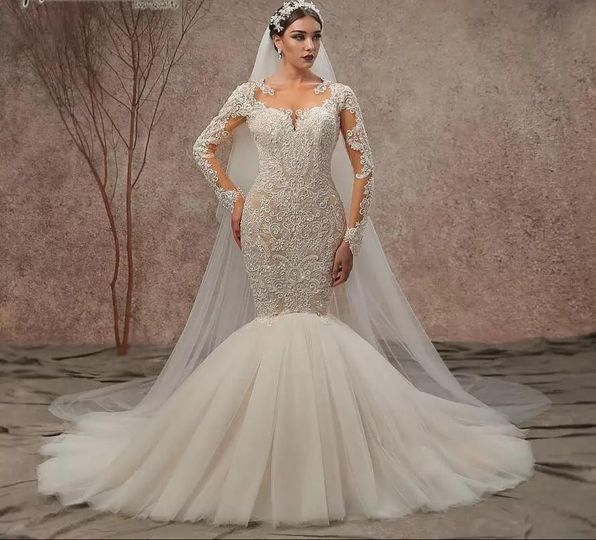 Luxe Mermaid Wedding Dress