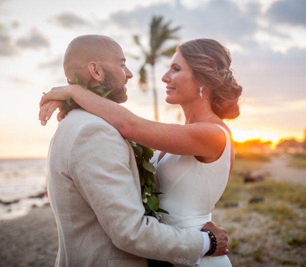 The newlyweds | PC: Kelilina Photography