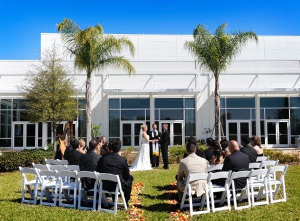 An example of just one of the outdoor ceremony locations available.