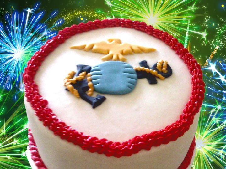 Tmx 1443014906410 Marine Corps San Antonio wedding cake