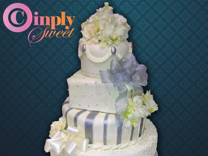Tmx 1443015007310 Wedding Cake 2 San Antonio wedding cake