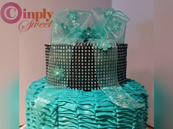 Tmx 1443015478833 Picsart1437863092761 San Antonio wedding cake