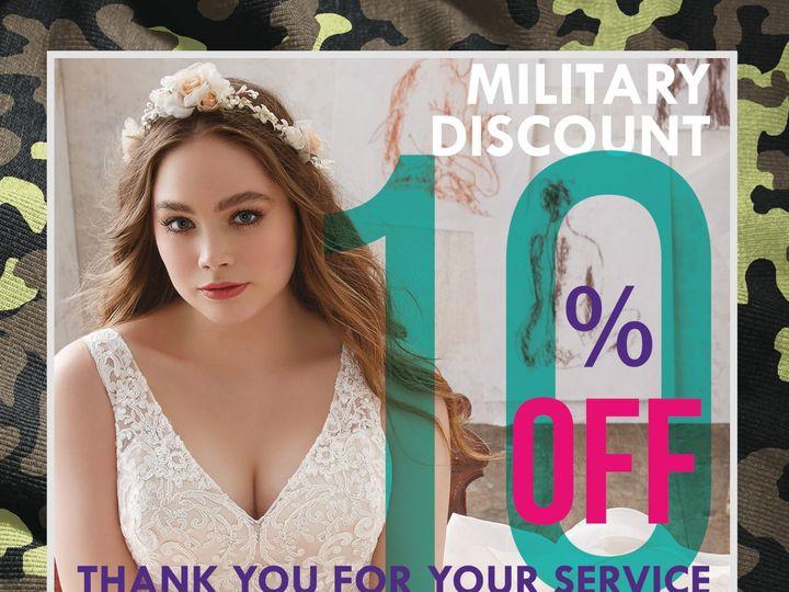 Tmx 1500298064237 Military Discount Brandon wedding dress