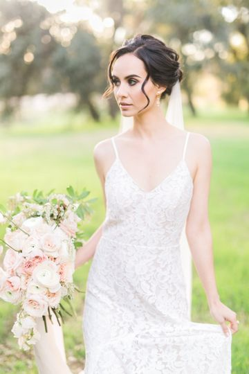 Oak Glen bride