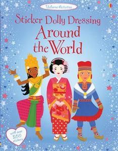 around the world sticker dolly dressing