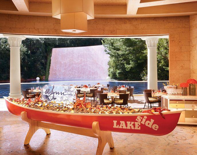 Lakeside offers breathtaking water views.