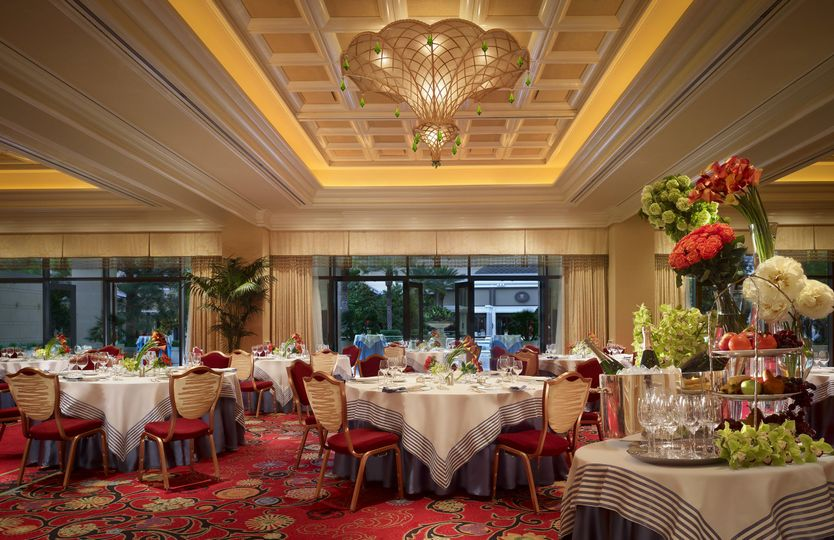 Our ballrooms can accommodate any size party for an elegant event.