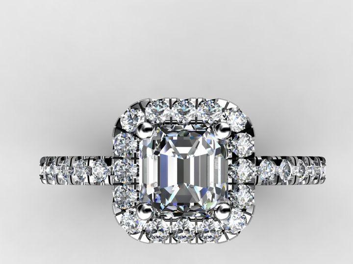 Tmx 1364001289580 1.5cthalodiamondengagementring Chicago wedding jewelry