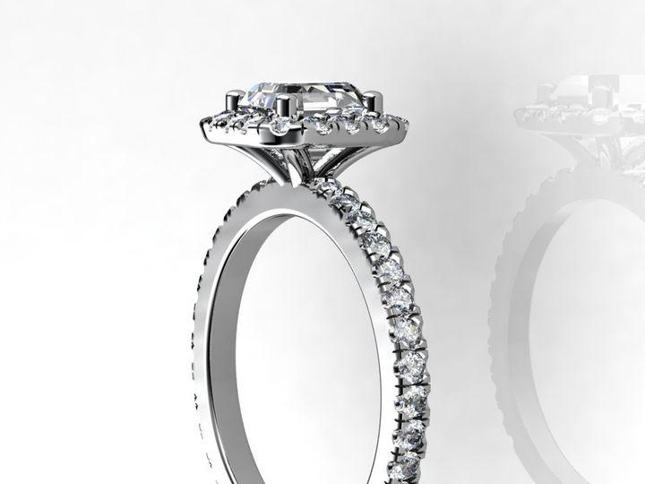 Tmx 1364001307163 1.5cthalodiamondengagementringside Chicago wedding jewelry