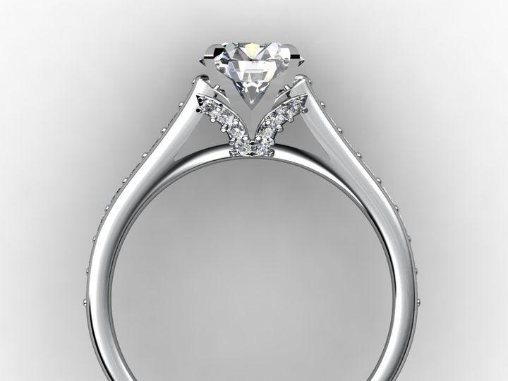 Tmx 1364003445182 1.5ctwhitegolddiamondengagementringside Chicago wedding jewelry