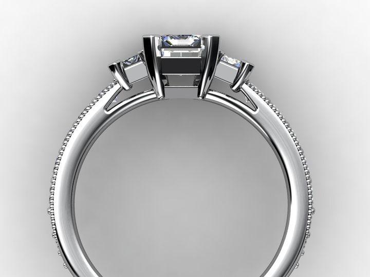 Tmx 1364003779616 Threestoneemerald1ctengagementring3 Chicago wedding jewelry