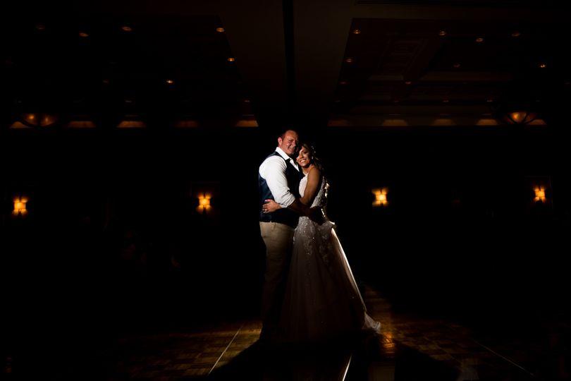 Couple in the spotlight