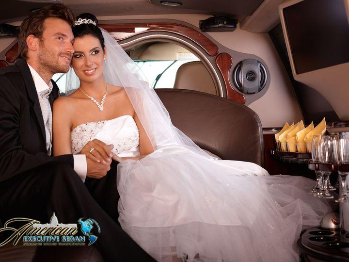 Tmx 1491925917402 Aesedanswedding Limo2inside Sterling, District Of Columbia wedding transportation