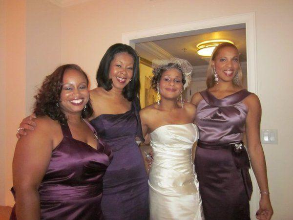 Kimberly Smith and Bridesmaids
