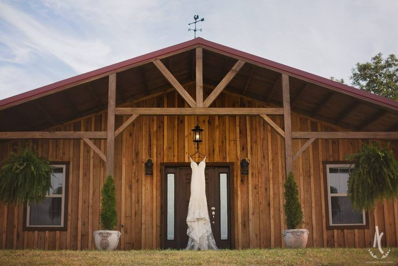 Front entrance of bridal suite