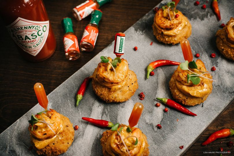 Tabasco appetizer