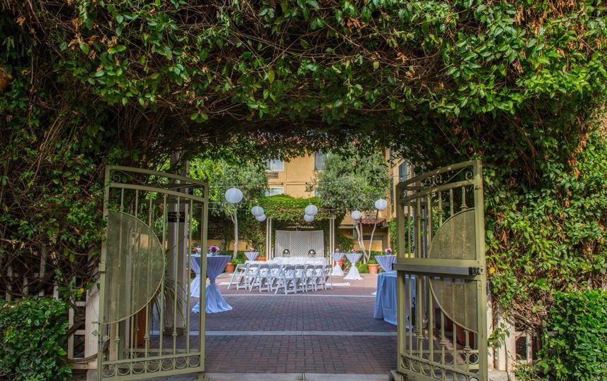 Entrance Garden Terrace