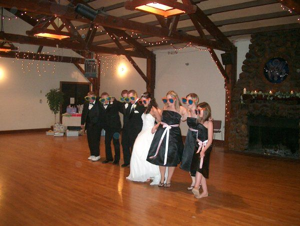 Bridal Party having Fun!