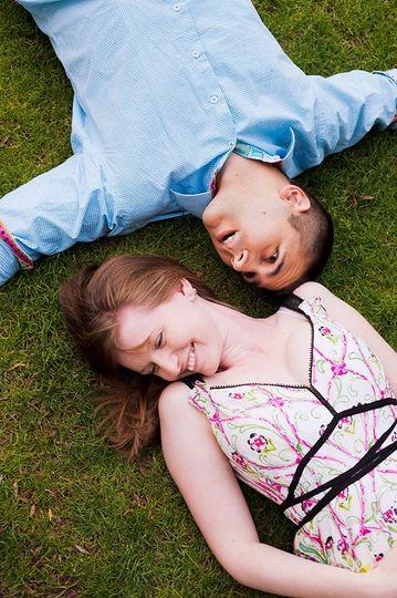Engagement couple joy - Portraiture By Christopher