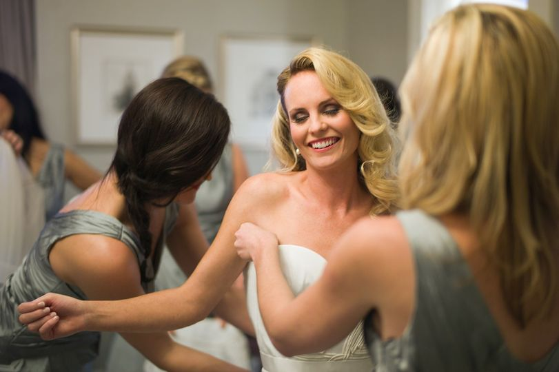 Bride getting ready - Portraiture By Christopher