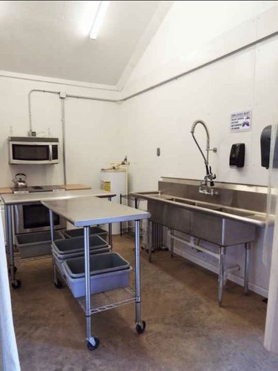 Commercial kitchen for caterer
