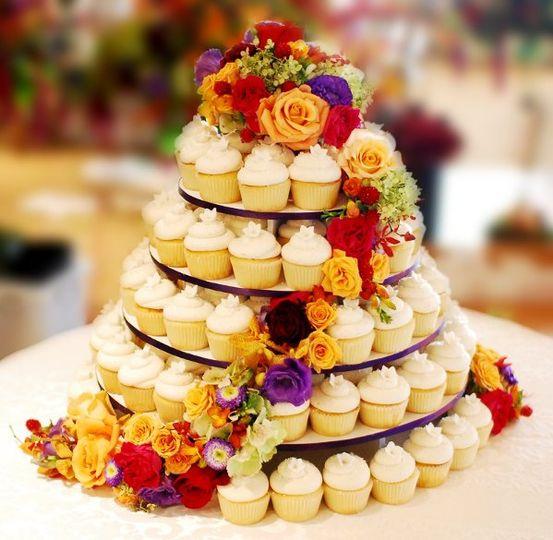 Cupcakes Gourmet - Wedding Cake - Malvern, PA - WeddingWire