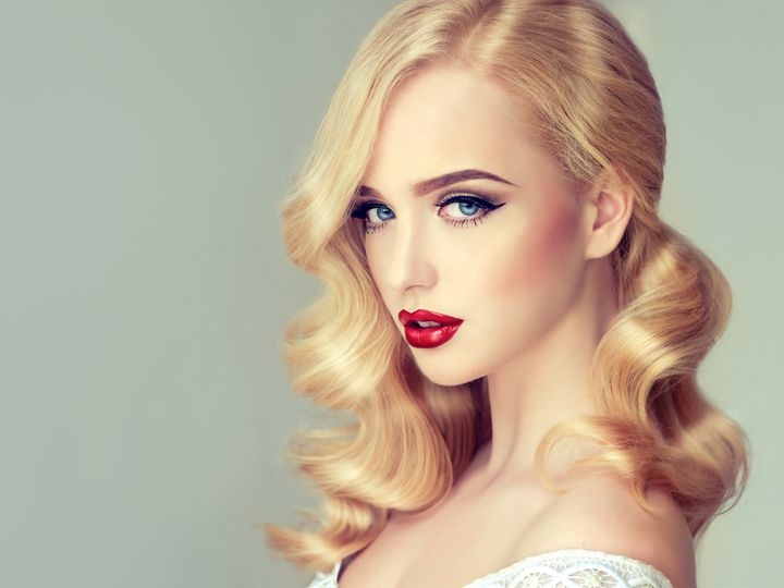 Tmx Beautiful Model Girl Blonde With Long Curled Hair And Red Lips 51 149525 Orlando, FL wedding beauty