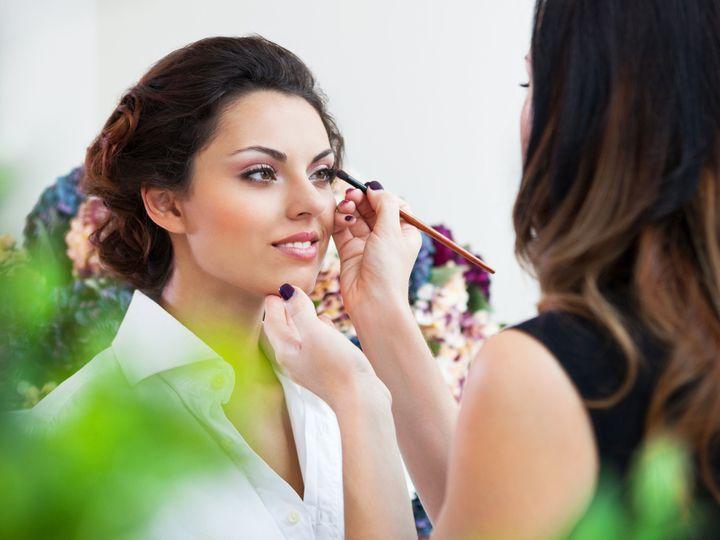 Tmx Make Up Artist Doing Make Up For Young Beautiful Bride 51 149525 Orlando, FL wedding beauty