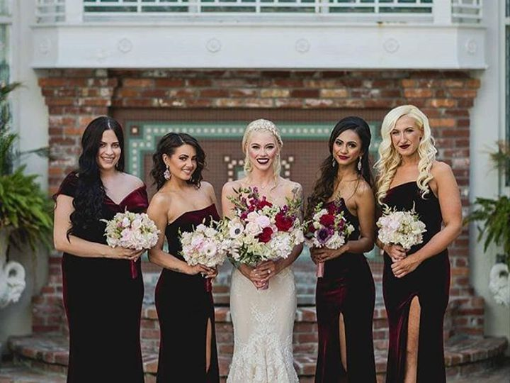 Tmx When You And You Bridesmaids Are Remarkable On Your Wedding Day 51 149525 Orlando, FL wedding beauty