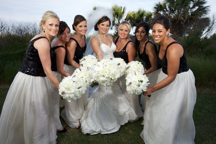 Bridal party at hammock beach