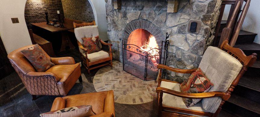 Cozy Wood Burning Fireplaces