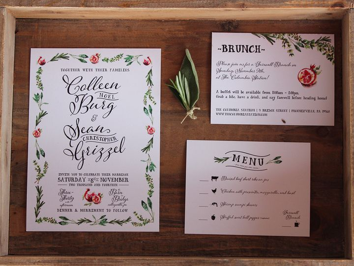 Tmx 1447773897995 Burg Wedding Newark, DE wedding invitation