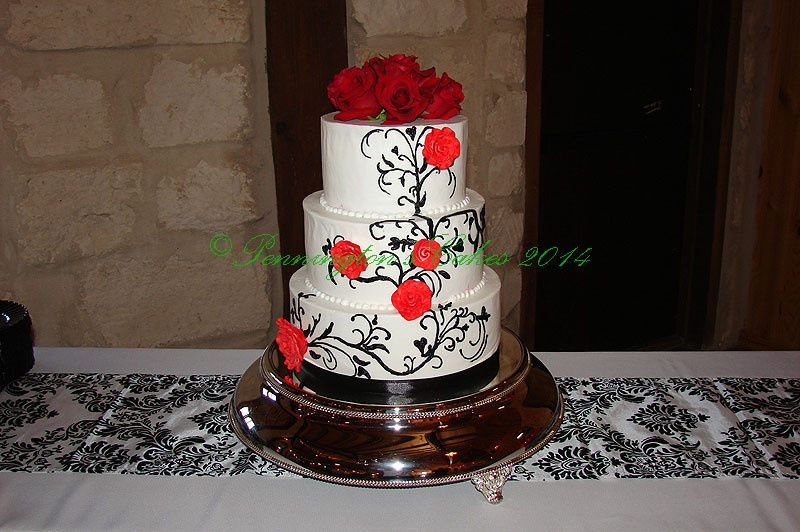 Red rose topper