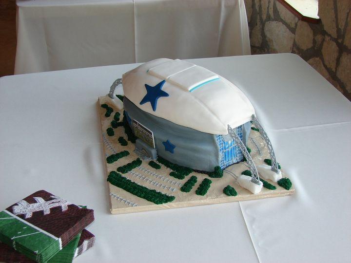 Tmx 1354812287343 DSC03417 San Marcos, TX wedding cake