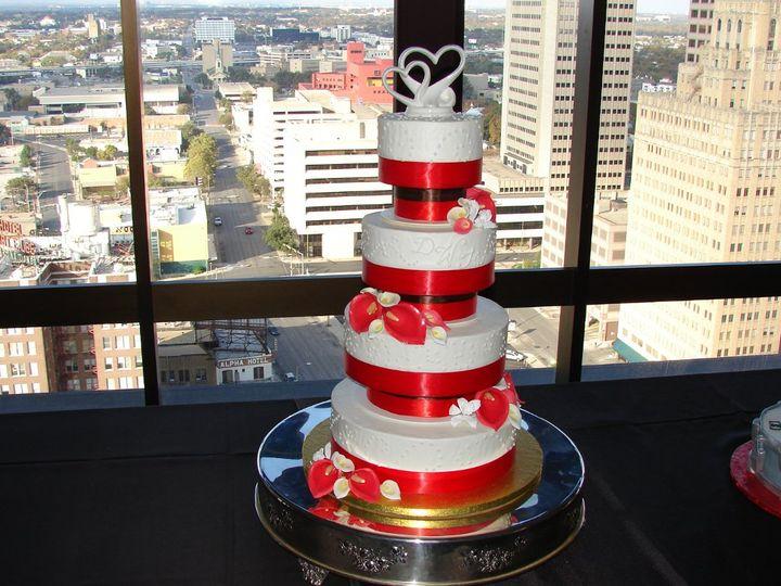 Tmx 1354829313840 DSC04141 San Marcos, TX wedding cake